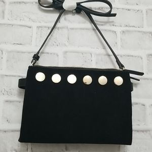 French Connection Cow Hide Leather Purse